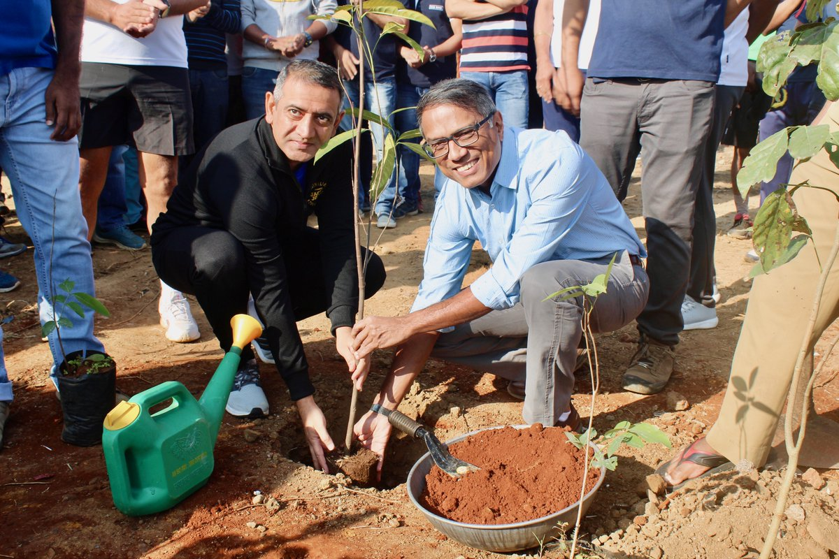 12,000+ saplings with 60+ native species; one largest and one beautiful #Miyawaki  #UrbanForest  of #Mumbai .   ThankU @DCBBank   and #CEO  Mr. Murali M. Natrajan to support and join us to create #MiyawakiForests     Special thanks to @mybmc  to avail a plantation site  #GreenYatra  #DCB