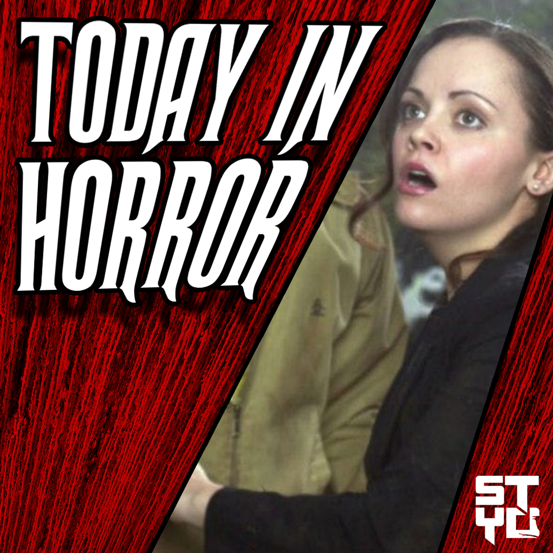 Today in horror, we are celebrating the anniversary of the Wes Craven-helmed werewolf thriller CURSED starring @ChristinaRicci and Jesse Eisenberg. Seen as a cult hit by some, the film's production was seen as similar to its own title.  What's your favorite moment from the film? pic.twitter.com/EFgW0irkV4