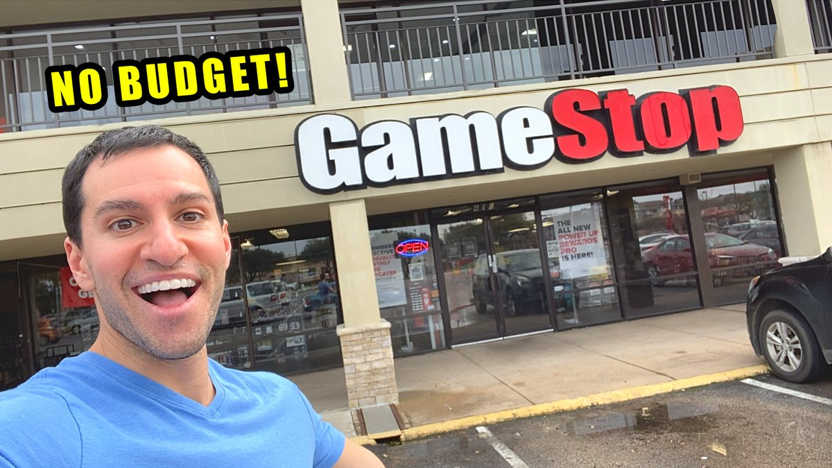 The NO LIMIT NO BUDGET Shopping Spree AT GAMESTOP! youtube.com/watch?v=HBOVuy…