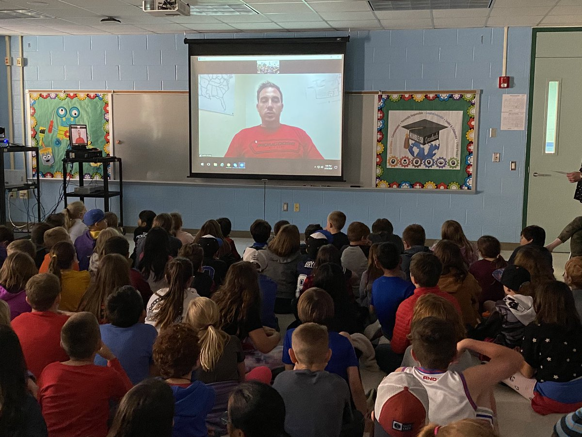 We had a great video session with a pro BMX rider! Thanks @USABMXSTEM for giving our students this opportunity for authentic learning. #sfesharks #funinfourth #collaboration #engagement #authenticlearningpic.twitter.com/n3JbbhfEKk – at Shadow Forest Elementary