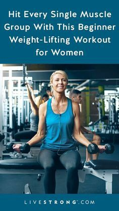 A beginner weight training program for women should include exercises that are relatively easy to learn and focused on working every major muscle group. #FitnessMotivation  #bodypositivity  #fitness  #WorksForMe   https://ift.tt/2FiPDkh