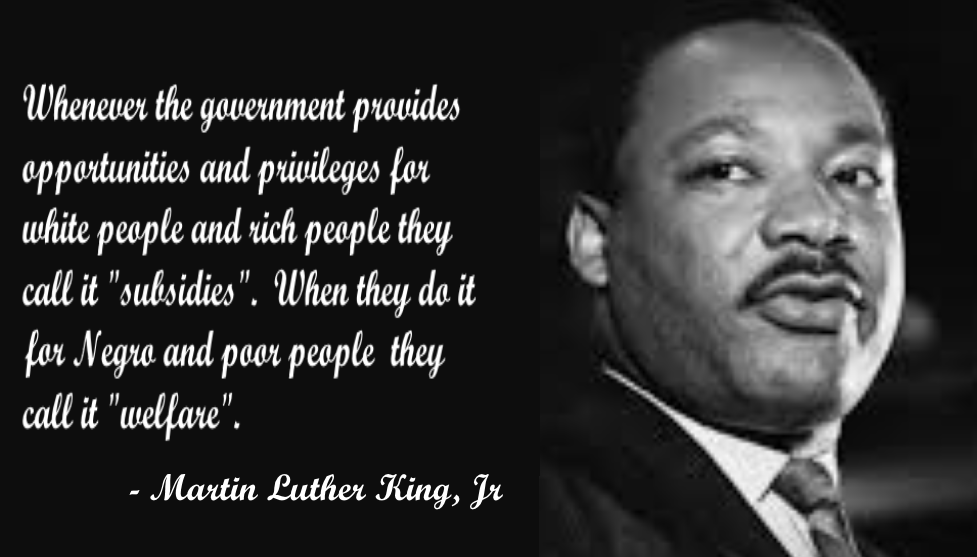 Tremendous truth in this #MartinLutherKingJr  quotation. <br>http://pic.twitter.com/7866wn5RQP
