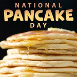 Mmmmmmmm, pancakes. Do you love pancakes? What's your favorite style/syrup? #PancakeDay #NationalPancakeDay 🥞