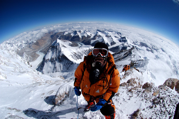 @MTNEQUIPMENT clothing has been to the summit of #everest since 1961. but not everyone get's this view! Hear what it's like to stand on the roof of the world.... after cycling 8000km to basecamp first!! @paulinesanderso https://www.climbers-shop.com/11106797/products/everest-the-worlds-longest-climb--pauline-sanderson.aspx …