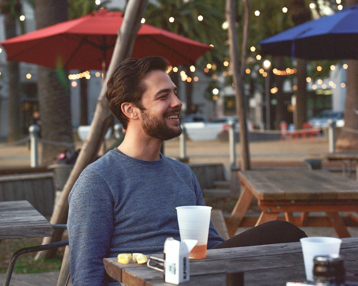 Portrait of Jack Zampolin (@jack_zampolin). Oakland 2020.  Captured on Kodak Portra 400 120mm Film using Hasselblad 500cm   Prints: http://art.gregosuri.com  #filmphotography #hasselblad #filmisnotdeadpic.twitter.com/sxK42Mwu5U