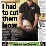Today's back page.@dailytelegraph@telegraph_sport@BulldogRitchie