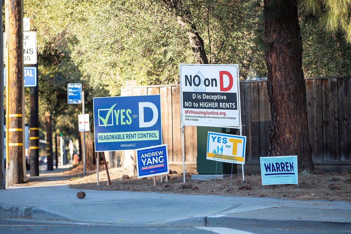 Find out what our readers are saying in the latest batch of letters to the editor, about #MountainView #rentcontrol Measure D, the presidential election, school bond measure taxes and a proposed new pool at Rengstorff Park: https://www.mv-voice.com/news/2020/02/25/letters-to-the-editor-measure-d-bond-measure-taxes-proposed-new-pool …