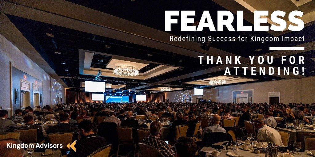 Image result for kingdom advisors 2020 fearless