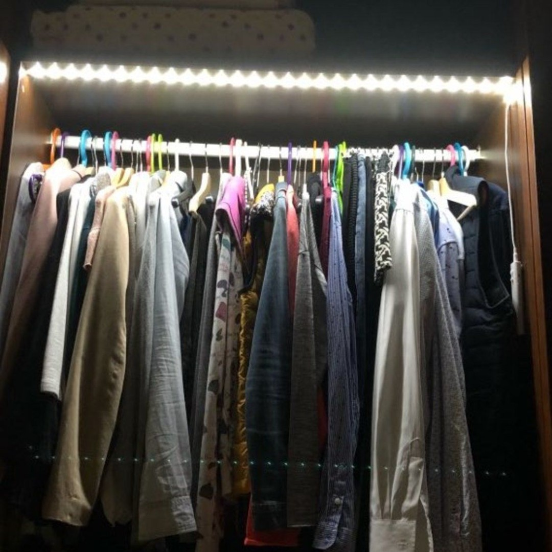 """""""LOVE, LOVE, LOVE this product. I ordered a BUNCH more!! This is so simple and the light is great. I put them all over the dark closets. Amazing light..."""" - Lewis B.  #inspireuplift #sensorlight #litmotion #stringlight #closets #light"""