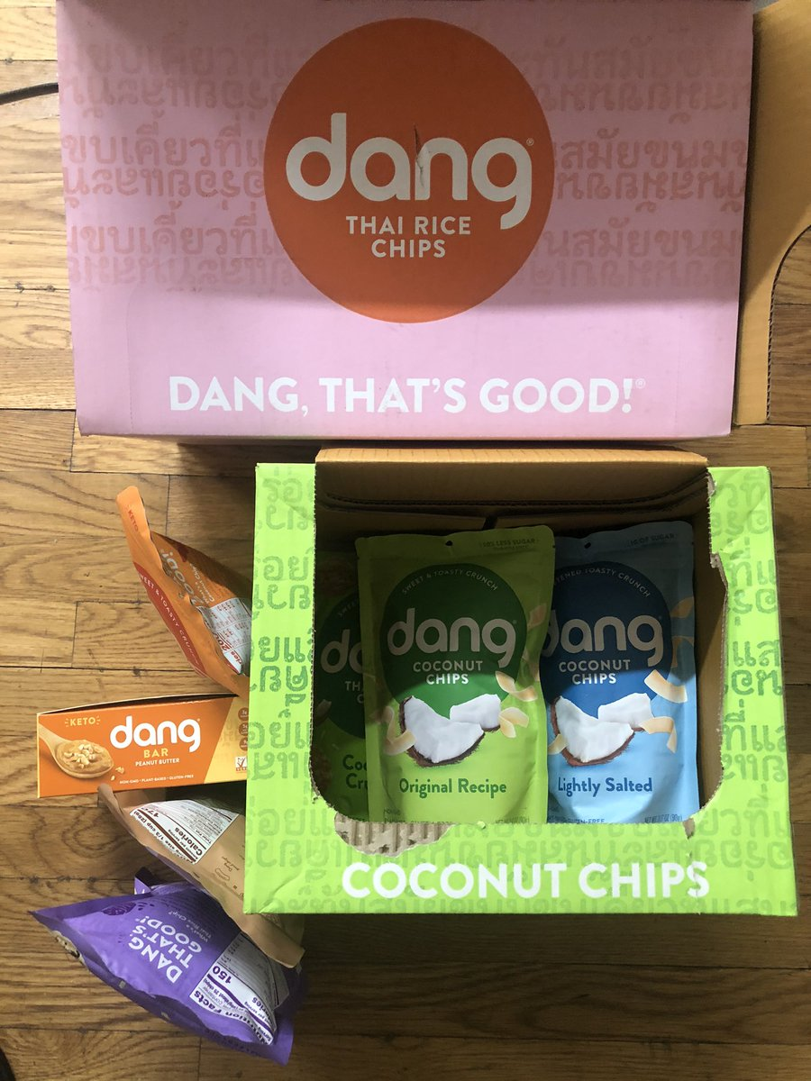 It looks like we may be joining the #danggang 😀👍
