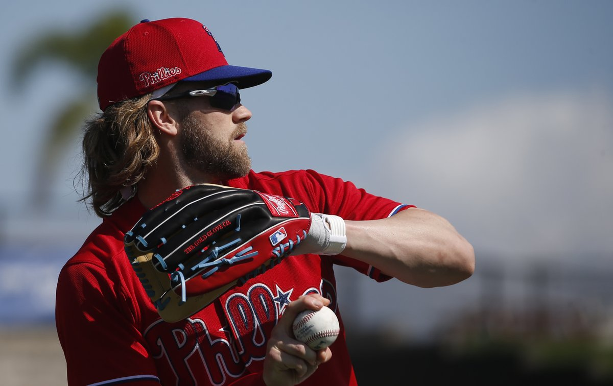 Bryce Harper, Jake Arrieta, the infield puzzle ... lots going on in Phillies camp Tuesday http://dlvr.it/RQkwzf