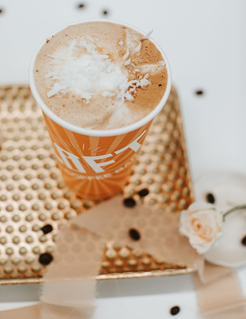 Try saying Germanchökoläte Mokka three times fast! Betchya can't We know you'll love this chocolate and coconut seasonal drink that's been calling your name since the beginning of February. It's here till mid-March, so come and get it while you can! pic.twitter.com/xhs5rApwvW
