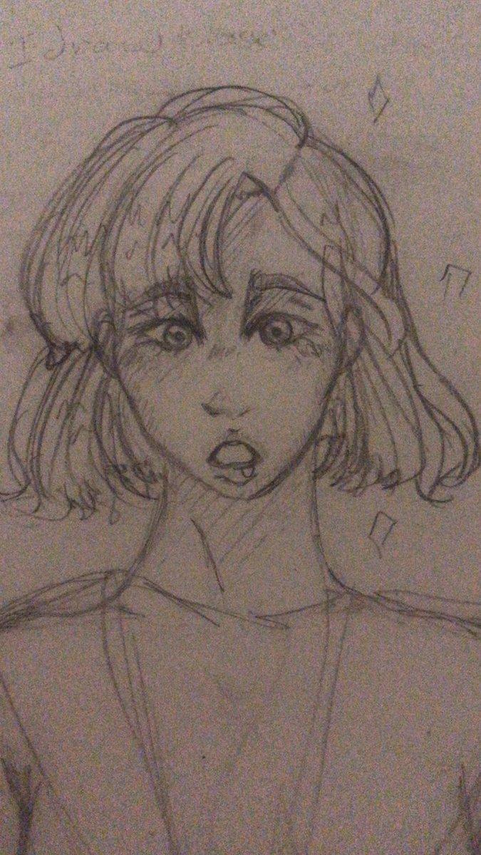 Im really sad heres an art #art #cutegirl #anime #animegirl #drawing #kawaii #かわいい