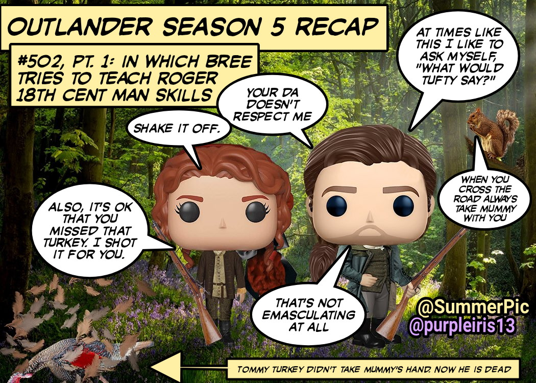 #Outlander ep #502 recap!👉The country is going to the dogs😩The Regulators are getting riot-y😠 We get a tutorial on tar-&-feathering🤢Lt. Knox tries to be loyal to the Crown🤨 Jamie tries to live in both worlds😬 & Roger tries to be Man of the House @SummerPic @Outlander_STARZ