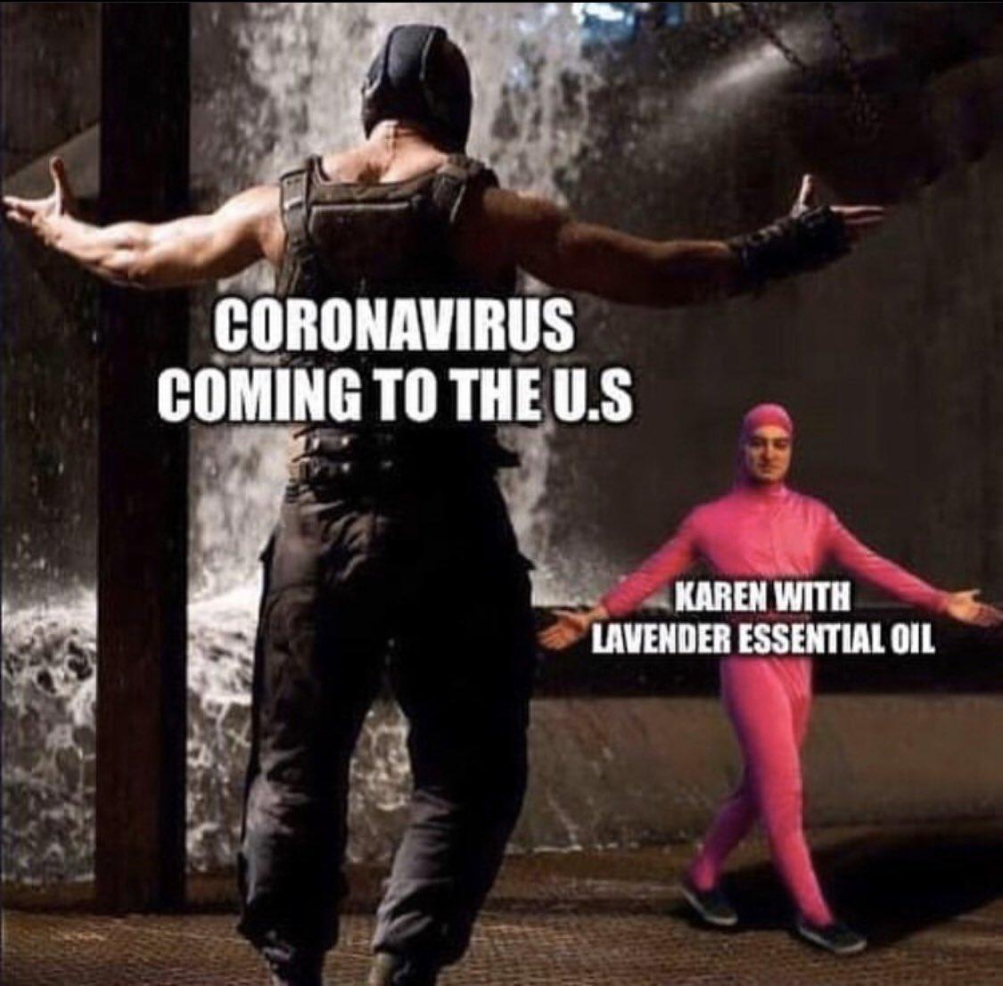 Coronavirus stands no chance against us USA USA USA