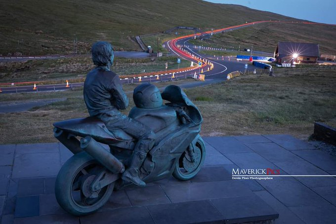 Happy BDay Joey Dunlop  King of the Mountain Yer Maun  On the top of the Snaefell! Joey Dunlop Memorial