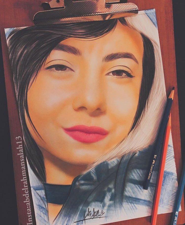 #Artist #Art #drawing #Fashionista #Draw #follow #black #Egypt #artwork_in_studio #painter #painting #makeup