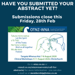 Image for the Tweet beginning: Final reminder - Abstract submissions