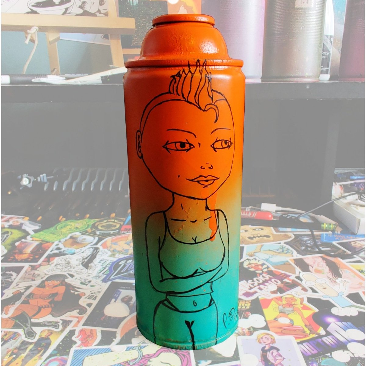 New spray can available at http://pdsean.com  You can watch me create it on my YouTube channel #pdsean #spraycanart #mgmArt #youtubevideos #youtube #artvideo #spraypaintartwork #artstudio #artcollection #artist #modernart #fineart #finishedpainting #newproject #newpainting pic.twitter.com/bfzqjymZ2c