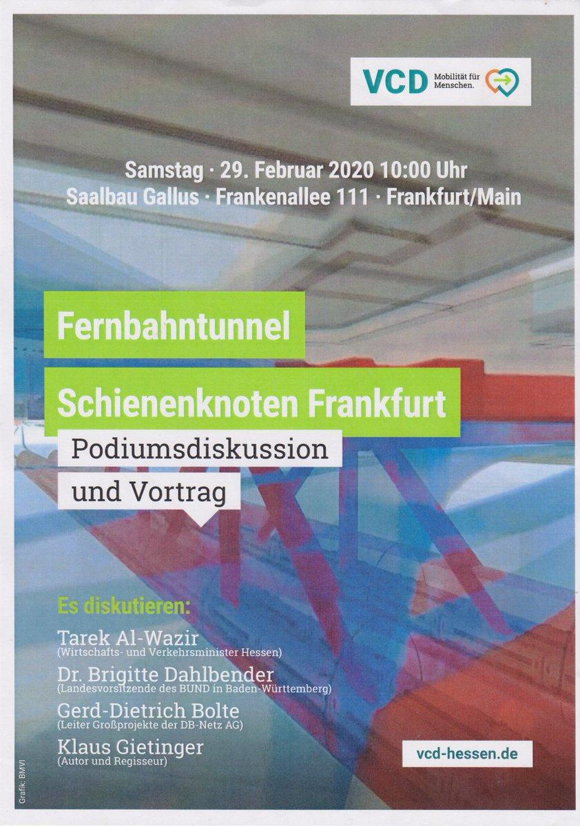 Am Samstag, den 29.Februar findet unsere jährliche Landesmitgliederversammlung im Saalbau Gallus in #Frankfurt statt. Wir freuen uns auf interessante Vorträge und spannende Diskussionen zum Schienenknoten Frankfurt und dem #Fernbahntunnel https://hessen.vcd.org/der-vcd-vor-ort/landesverband-hessen/landesmitgliederversammlung/…pic.twitter.com/Q3IWiK880F