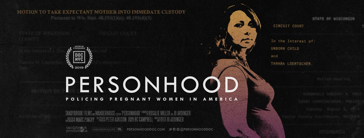 Tammy's voice speaks for the thousands of pregnant American women with similar stories that never make headlines. What happened to her is terrifying, and proof that it can happen to any woman. Personhood is an important, awareness-raising, must-see film https://athenafilmfestival.com/film/personhood/…pic.twitter.com/r8AQuqISmG
