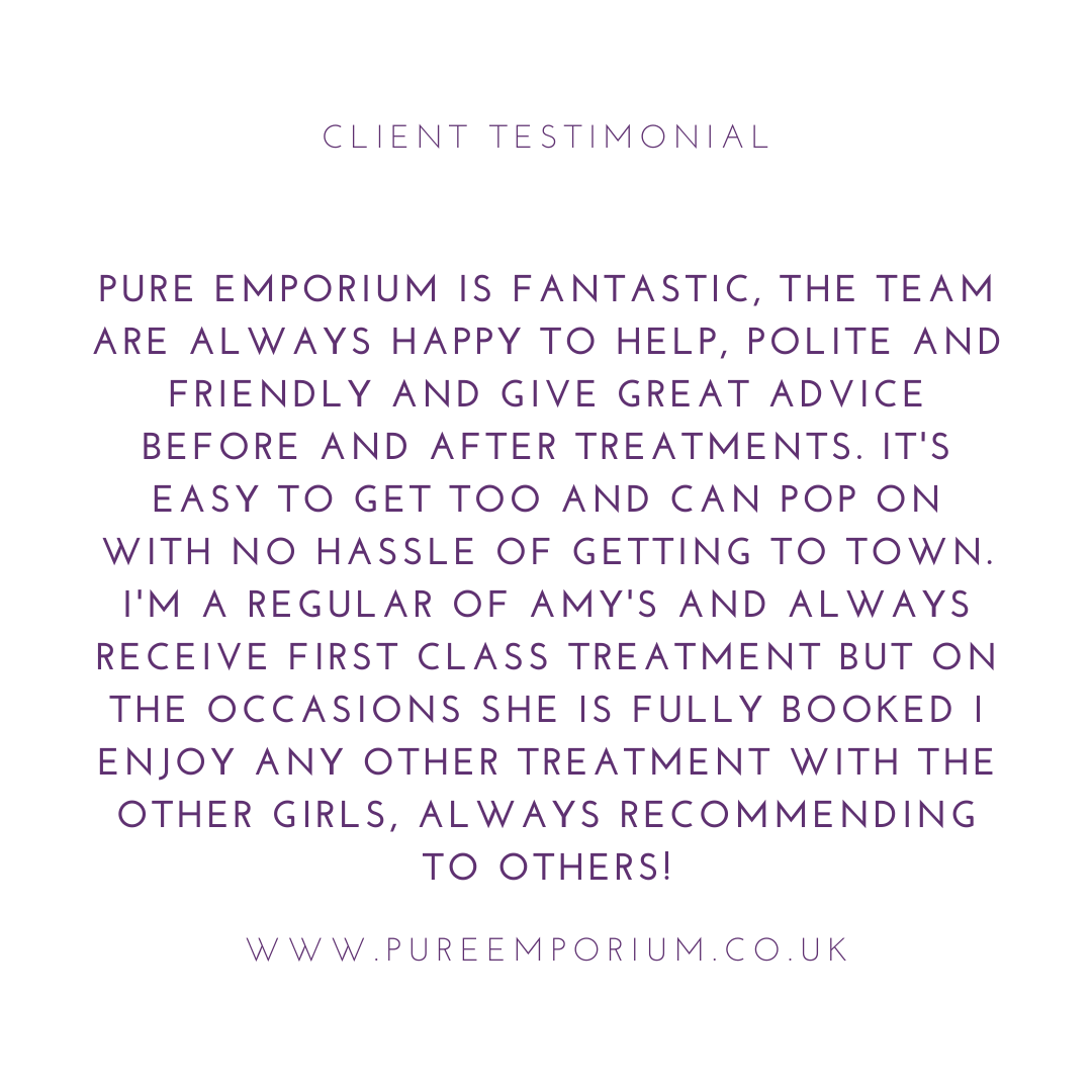 Thank you Charlotte Marie Lewis for your kind testimonial. BOOK YOUR TREATMENT TODAY!  ... #art #beautiful #beauty #nailvarnish #girls #salon #nailart #nailpolish #nails #nailswag #opi #photooftheday #polish #shiny #sparkles #stylish #pureemporium #hereford