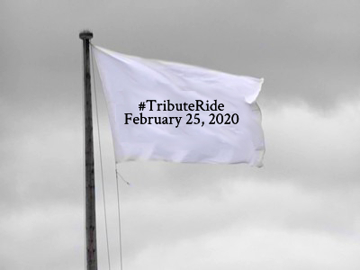 *carries flag proudly* #TributeRide #BBOT #PA