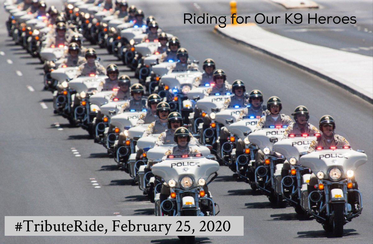 Dem police is here to honor and ride wif us. #TributeRide #BBOT #PA
