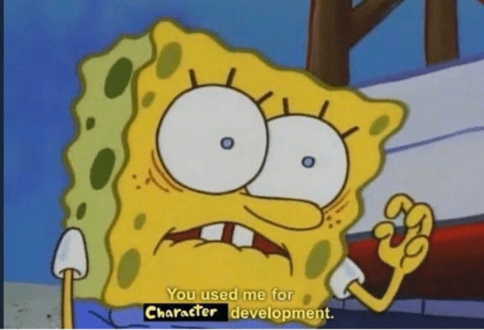 When a character you voice doesn't get that second season