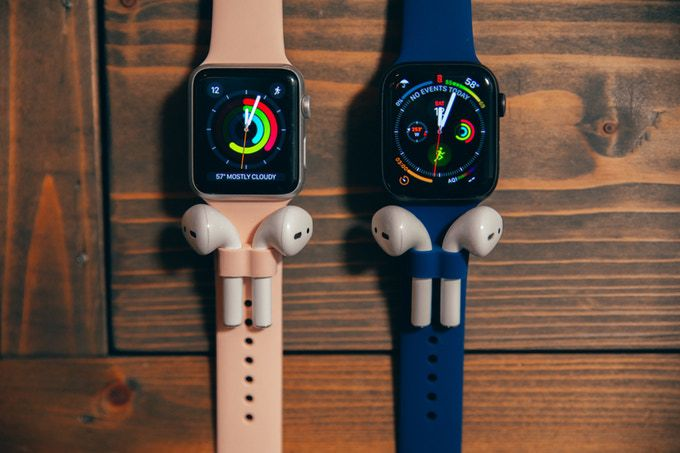 This AirPod-holding Apple Watch band is either brilliant or incredibly dumb