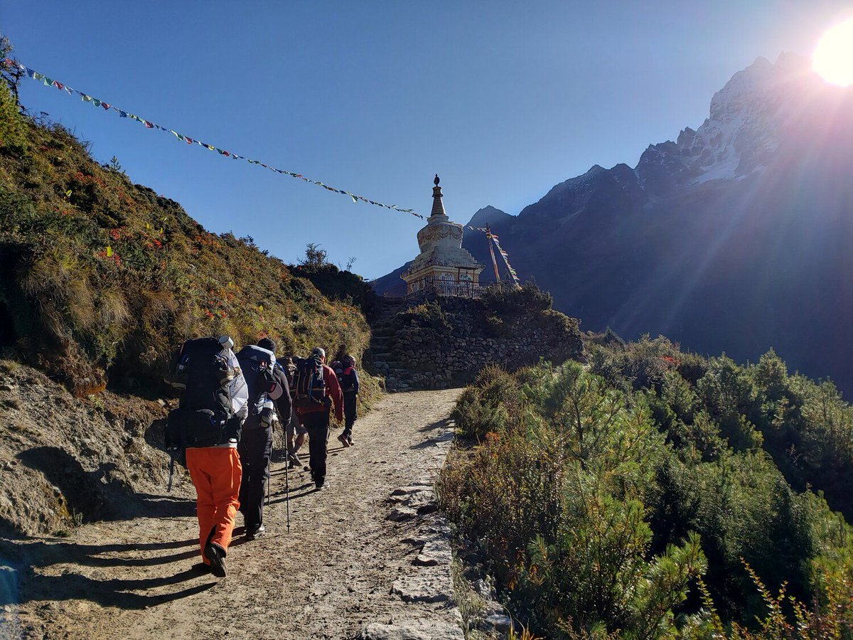 Looking at pictures of #Nepal makes you wonder:  Is it really possible that this place exists?   Let @redhatoutfitters help you navigate the Expectations vs. Reality of trekking in Nepal.   https://buff.ly/2Z0sY6S  #VisitNepal #WorldOutside9to5