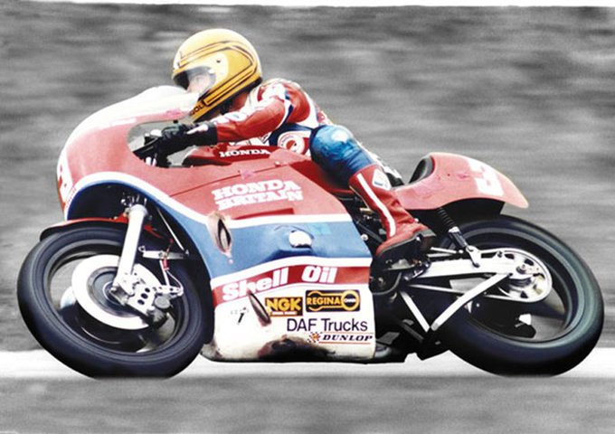 Happy birthday joey dunlop  a true legend from Lincolnshire cadwell park