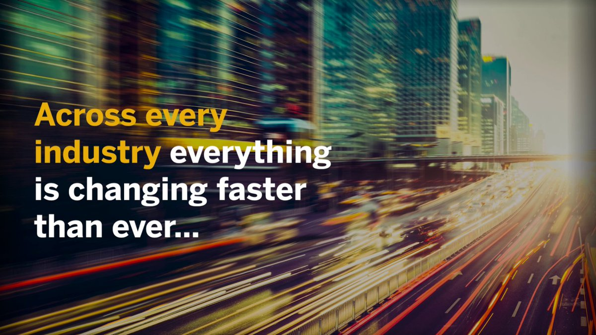 One thing is certain: the speed of change across industries continues to accelerate. How have you prepared for the future? http://sap.to/60181l3Zo  #IntelligentEnterprise