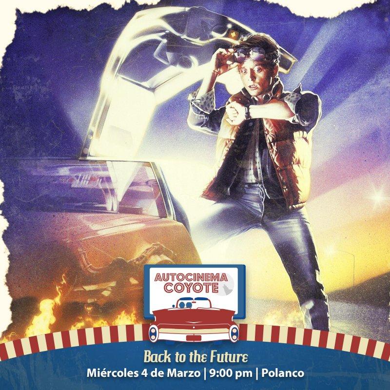 Aceptémoslo, ser super fan de #BackToTheFuture es saber qué marca de calzoncillos usa McFly. Ser mega fan es no perderte la oportunidad de revivir está aventura espacio-temporal en Autocinema Coyote  BOLETOS: https://bit.ly/2HWDS69pic.twitter.com/o93E4J0qYc
