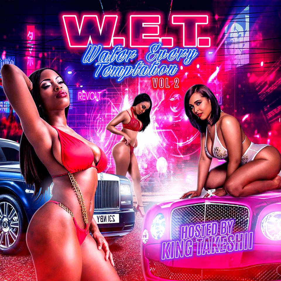 Please Listen to the New  W.E.T. Water Every Temptation, Vol. 2 by King Takeshii aka #mrvalentine about to make your #girl fall in #love  Go and get on #VDAY  #kingtakeshii #wetmaster #wet #water #every #temptation #mixtape #love
