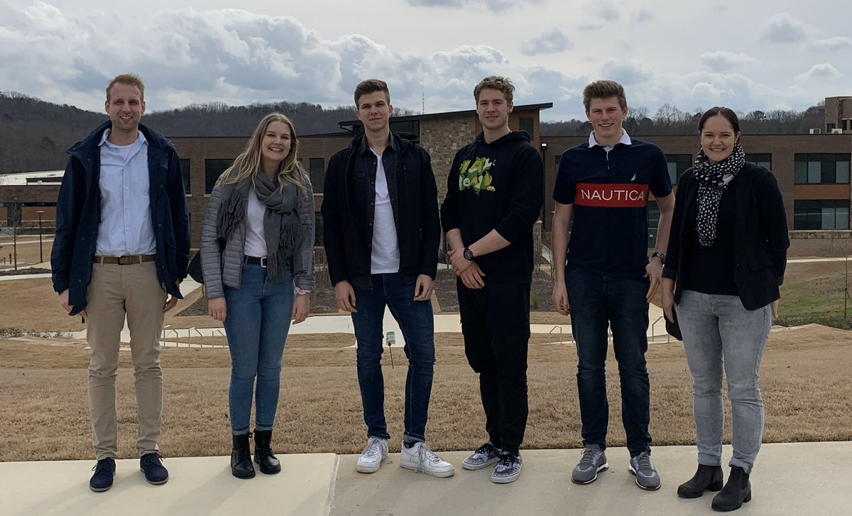 We are thrilled to welcome exchange students from Bad Aibling Berufsschule (Technical College) in Germany to @LanierTech. We are excited to host these four students and two instructors for two weeks as they experience Technical Education in the USA. #TCSG #PartnersInProgresspic.twitter.com/eyrzzQZe4S