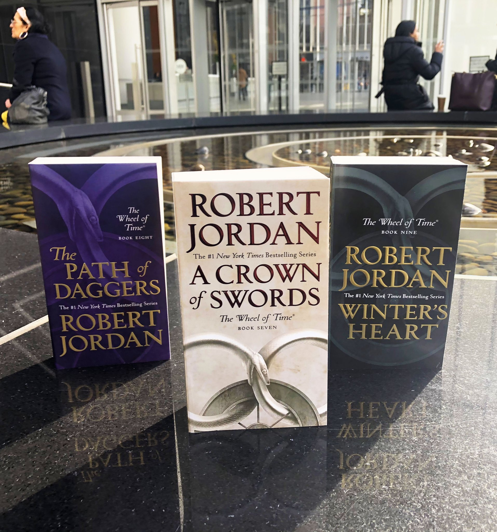 Tor Books On Twitter The Wheel Of Time Turns And Ages Come And Go Leaving Memories That Become Legend Continue The Saga With Acrownofswords Thepathofdaggers And Wintersheart By Robert Jordan Now Available