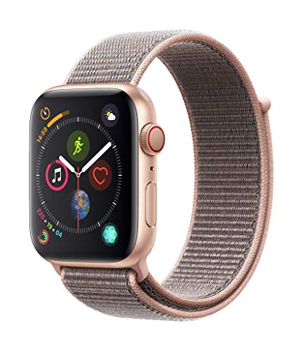 Apple watch Series 4 (gps + Cellular) Boîtier En Aluminium Or De 44 mm Avec Boucle sport Rose des sables : 399€ (au lieu de 559.00€)  https://amzn.to/3c4Avb4  pic.twitter.com/5RYomb1ieB