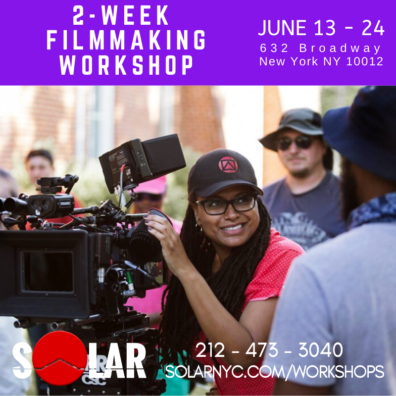 Want to do GOOD Films? Learn from a PRO 2-Weeks Hands-on Filmmaking Workshop JUNE 13-24 http://www.solarnyc.com/workshops Join us! We're GOOD!  #filmmakingworkshop #filmmakingclasspic.twitter.com/rKAPQBMvnW