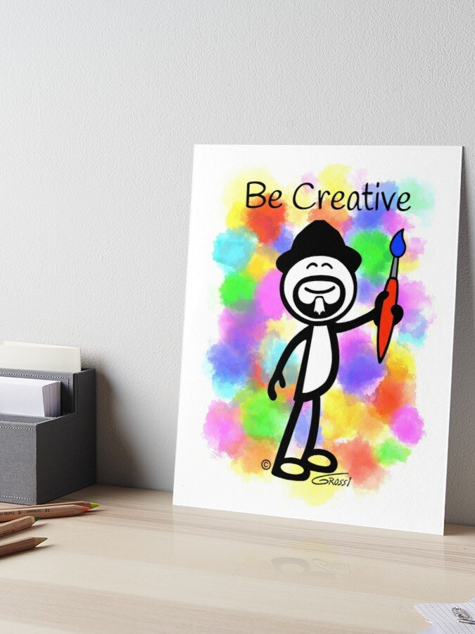 Whatever medium of creativity you choose, from painting to sculpting to poetry to music....always Be Creative! http://GDGCreations.redbubble.com  #creative #creativity #createart #becreative #art #artist #artistsoninstagram #redbubble #redbubbleartist #findyourthingpic.twitter.com/ctn9ePimwt