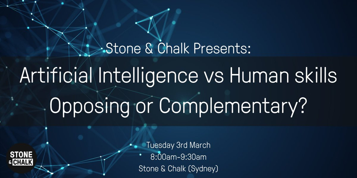 A Panel Discussion on Artificial Intelligence vs Human skills - Opposing or Complementary?, Sydney, 3rd of March   Humanitix