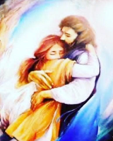 He calls you His. You are perfect in the eyes of the Beloved. Everything else fades away when His love invades our hearts... He loves you to perfection pic.twitter.com/nKNrhOUD4B