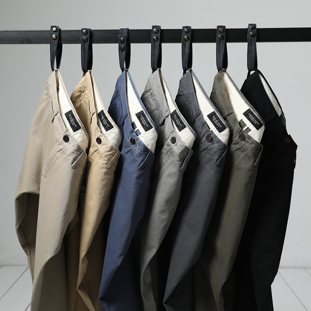 #design #fun Men's Slim Fit Trousers
