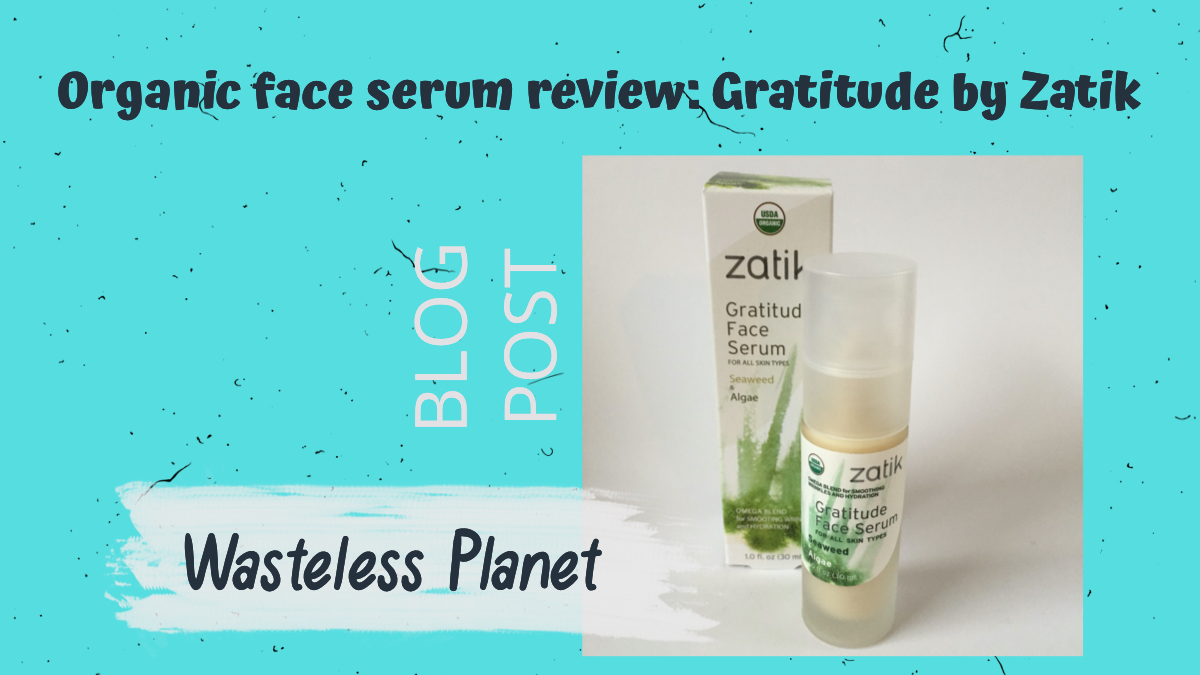 Would you put seaweed on your face?! Read all about my experience with @ZatikNaturals organic face serum. And wether I'm happy it was part of my @shopLoveGoodly subscription box a while back #organicbeautyproducts #organic #beauty #natural http://rfr.bz/tbxd58pic.twitter.com/MSJ2A7IHgY
