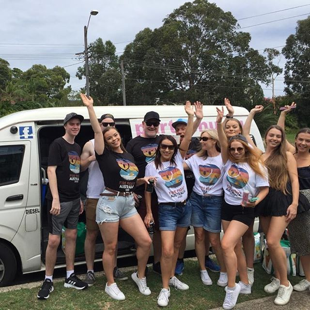 Ben & Lisa's #fungroup from #wooloware to @anzstadium for @firefightaustralia #greatday #greatnightout #partytime #greatnights #sydney #corporate #party 14 seater #bus #partyshuttlebus #partybus #sydneylocal #nightclub #dance #club #music #events #dj #formal… Book on 0450060055