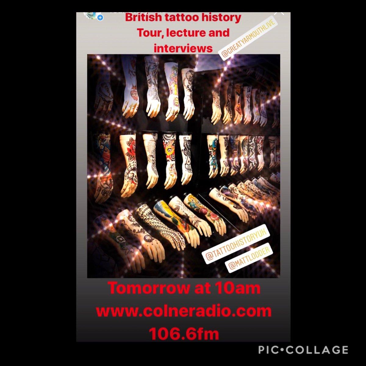 Tomorrow at 10am! #radio #History #tattoolife #tattoohistory #greatyarmouth #timeandtide #maritimeMuseum #supportlocal #supportlocalbusiness #excitingtimes #radiodj #spinthosedisks #PancakeTuesday #TuesdayMotivation #StupidLovepic.twitter.com/EpVRSAna8f