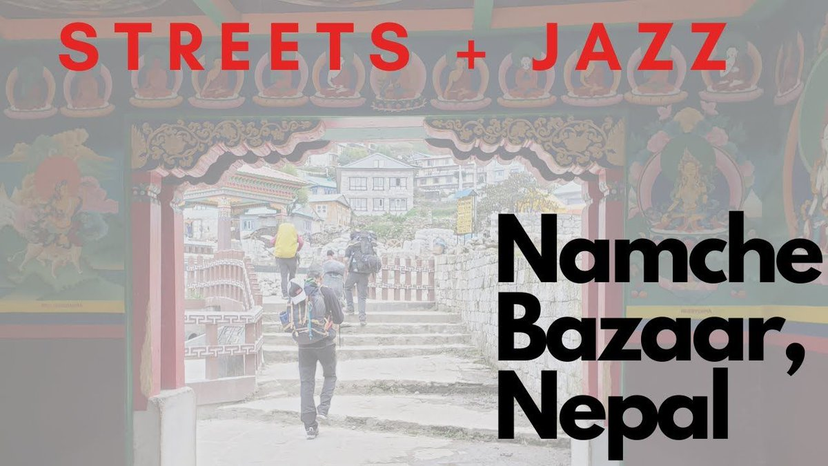 Take a walk down the steps of this historic market place of the Khumbu Valley, #Nepal with @redhatoutfitters with soothing Jazz music.   https://buff.ly/30xCJu1  #visitNepal
