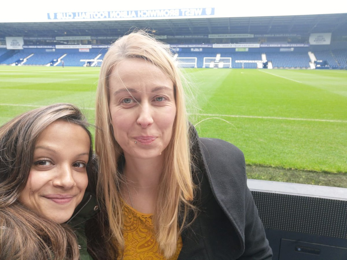 Great day of insightful conversations among the #FansForDiversity guidance group members @westbrom. Some excellent projects with fan support groups on #equality and #inclusion in #football  Thanks everyone for your contributions and @ApnaAlbion for hosting & match tickets <br>http://pic.twitter.com/bozaUmCYlk