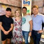 Big Sports Brekky fans, we are excited to announce the new team for 2020! 🎉 Michael Clarke, Jaimee Rogers, Laurie Daley and Gerard Middleton 👏🏻#bigsportsbrekky