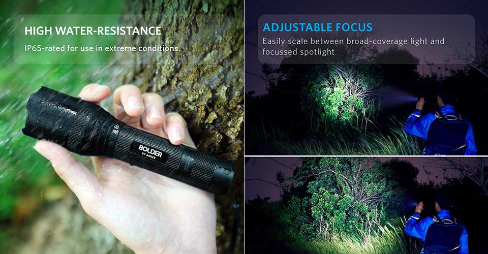 Anker's LC 90 flashlight offers 900 lumens of brightness, thanks to CREE LEDs. https://www.techeblog.com/anker-bolder-lc-90-led-flashlight-review-deal/… #deals #gadgets #technology #dealofthedaypic.twitter.com/02my5IXGVt